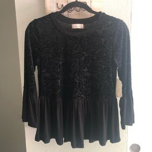 NWT Altar'd State Baby Doll Top